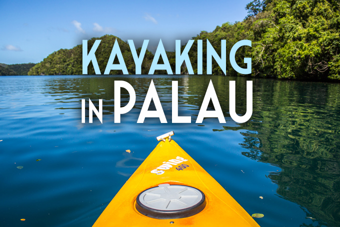 Kayaking in Palau