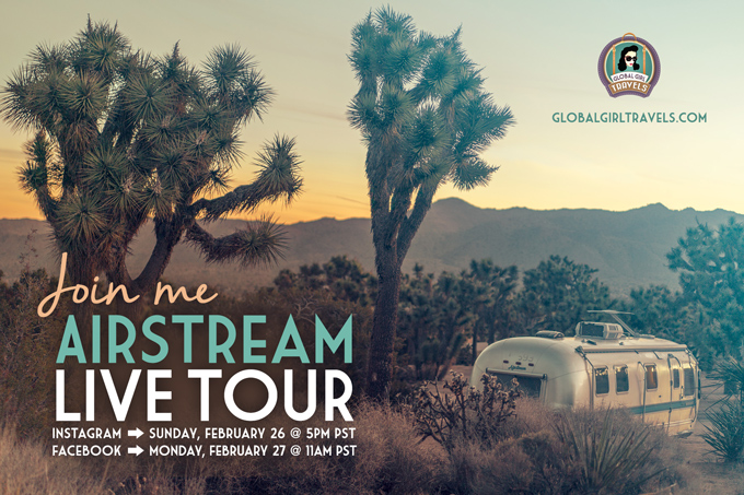 Live tour of my Airstream - Global Girl Travels