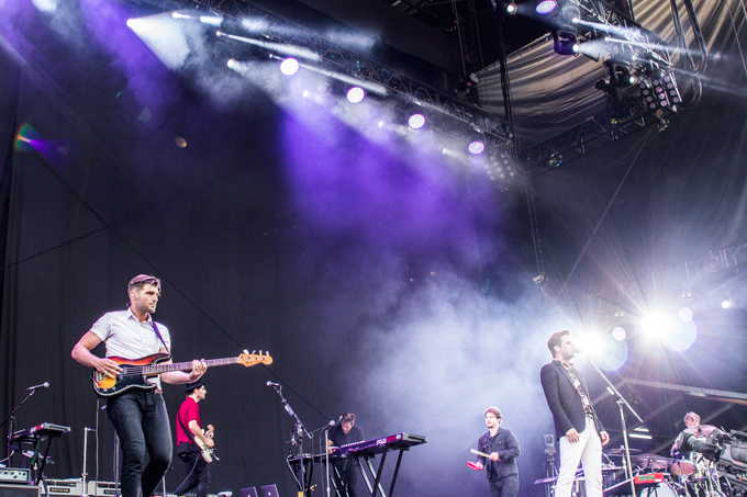 foster the people at fuji rock festival stage