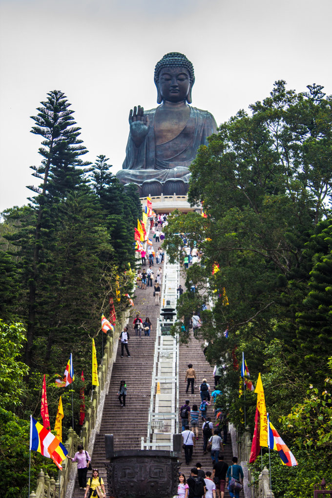hong kong big buddha