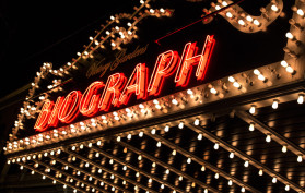 Biograph marquee, Chicago, Illinois
