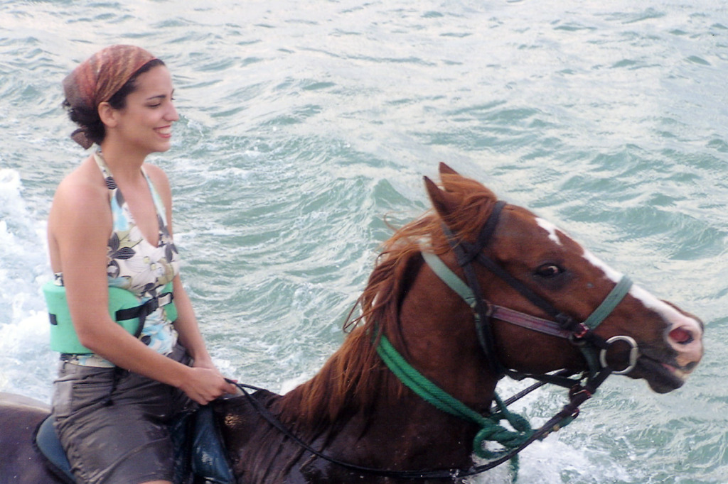 Horseback into the Sea
