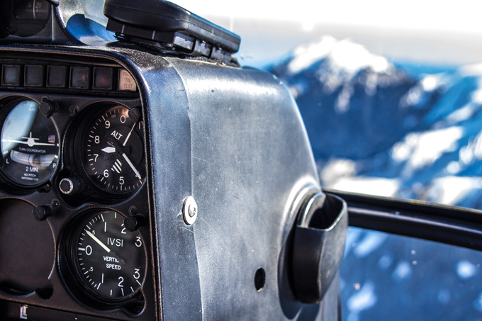Franz Josef helicopter dials, New Zealand