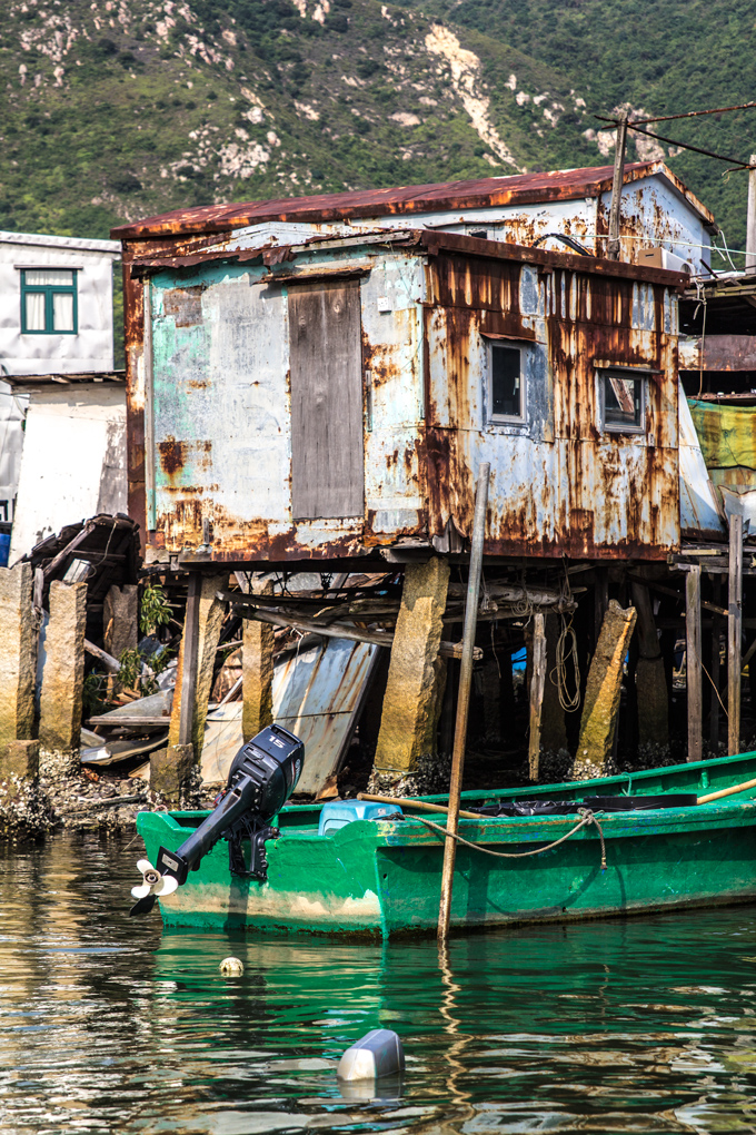 Tai O Fishing Village, Hong Kong, china