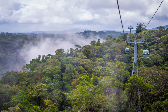 Kuranda Skyrail and scenic railway Cairns, Australia