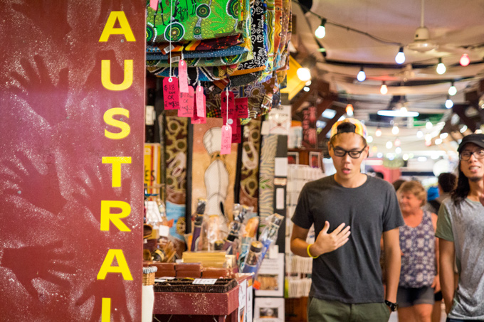 cairns night market, australia