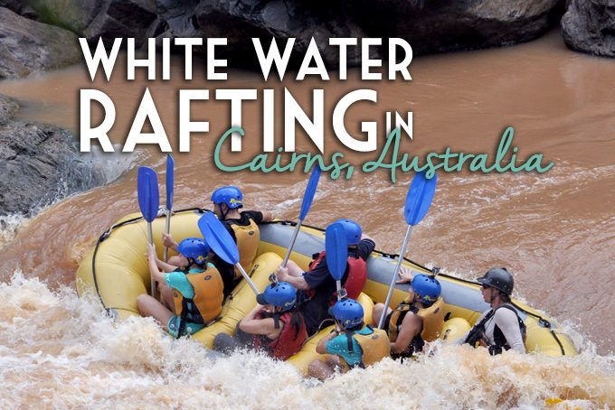 white water rafting in cairns, australia with raging thunder adventures on barron gorge