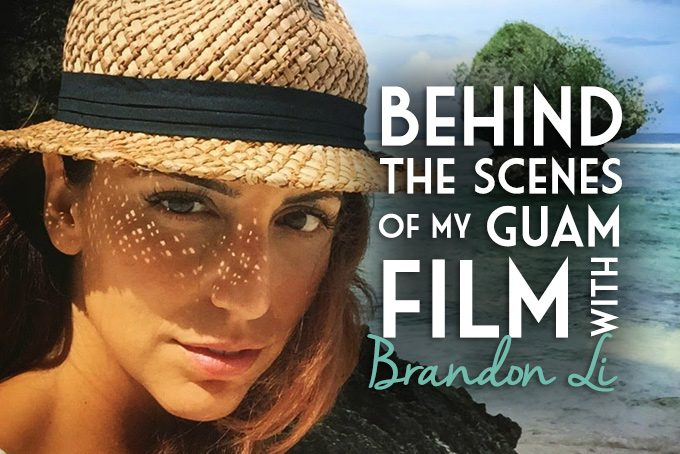Behind the scenes of my Guam film with Brandon Li