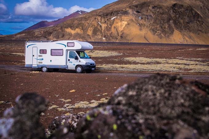 Iceland Campervan, Kuku Campers