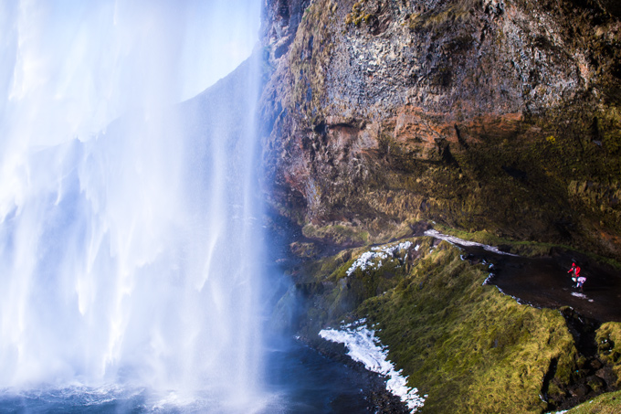 seljanalandsfoss waterfall, iceland
