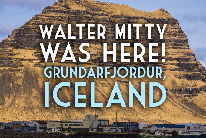 Walter Mitty Was here! Gundrarfjordur, Iceland