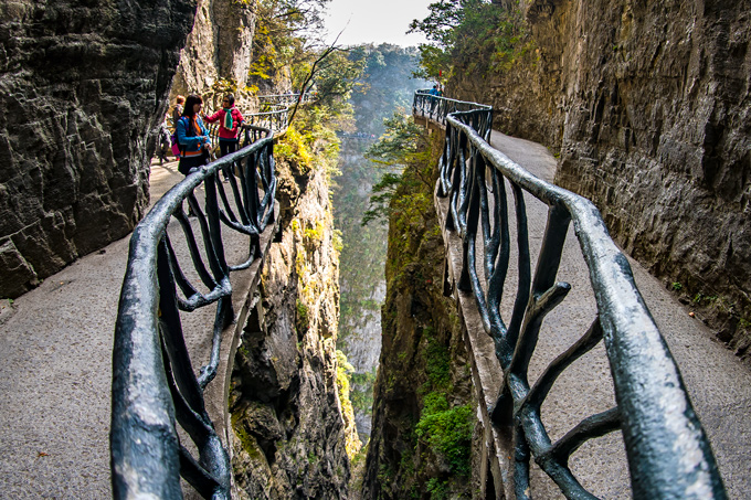 Tianmen Mountain National Park, Zhangjiajie, China
