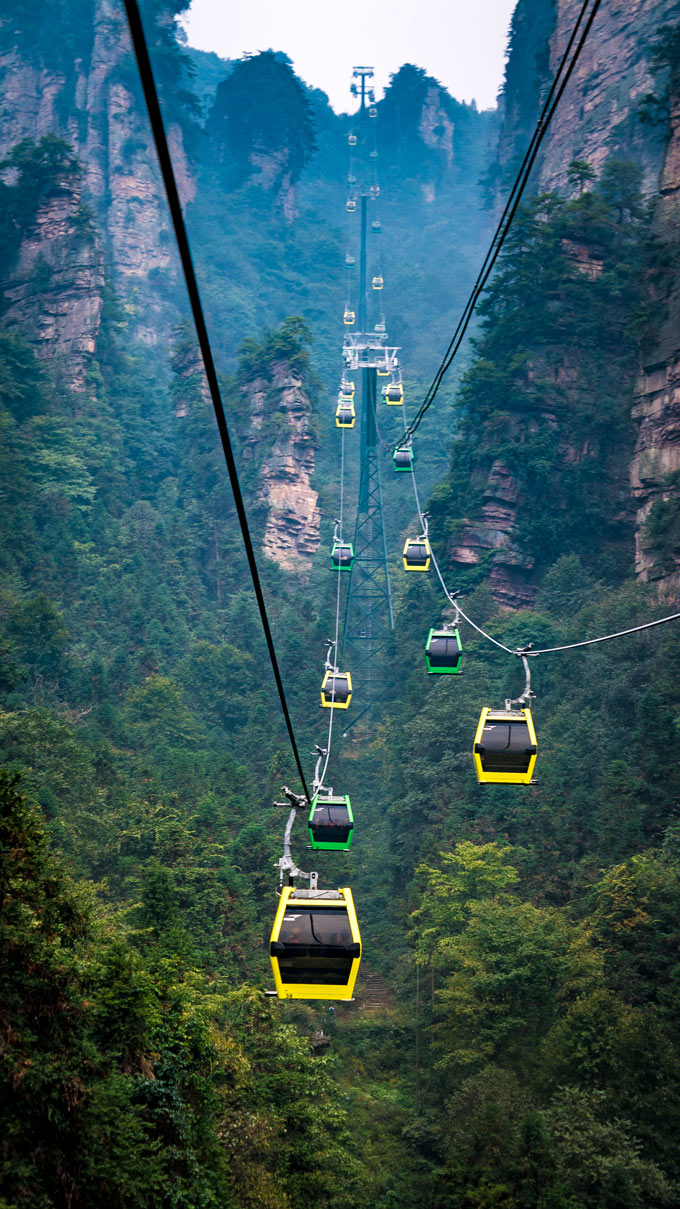 Climbing China S Avatar Mountain In Zhangjiajie National