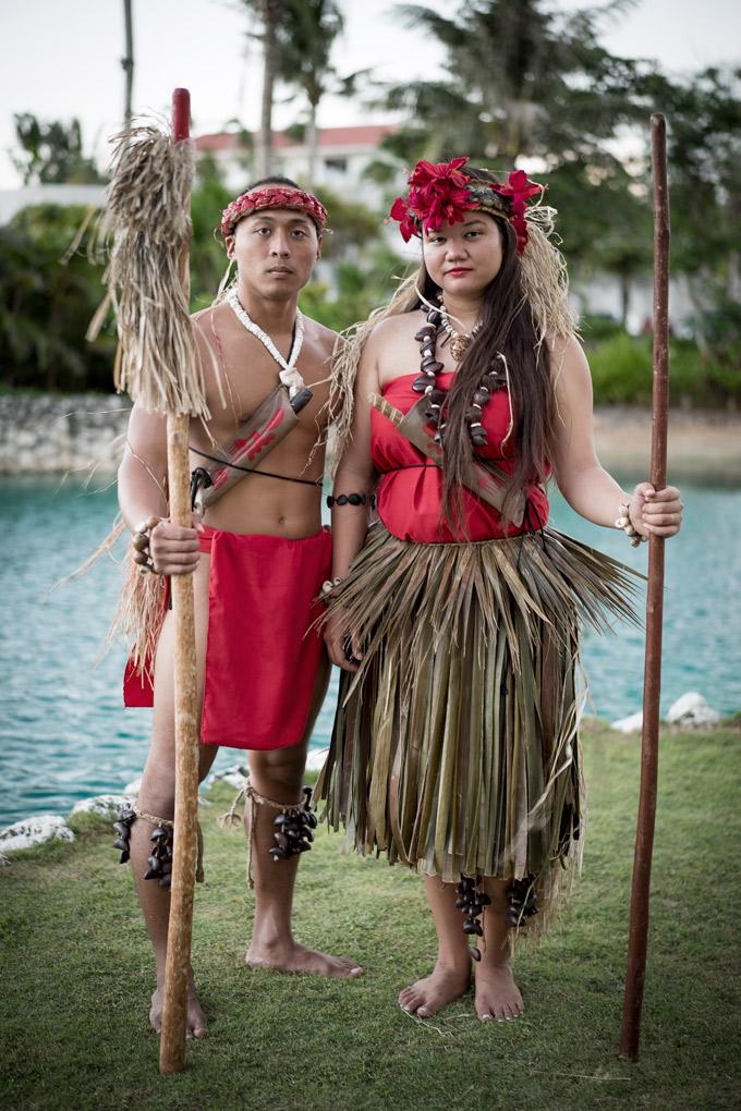 American Soil, Chamorro Soul - Chamorro dancers at Sheraton Laguna Guam Resort