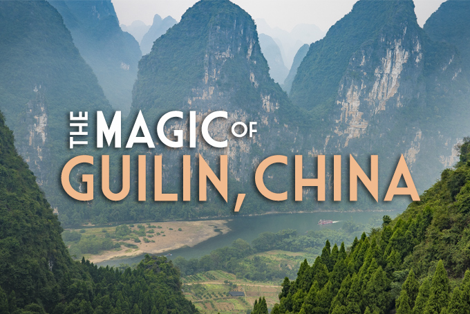 The magic of Guilin, China