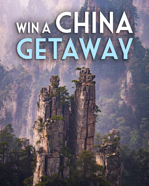 Win a China getaway!