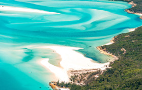 Whitsundays Aerial flight, Australia