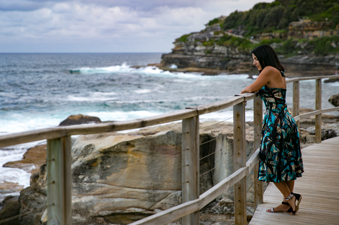 Jessica Peterson, Global Girl Travels on Bondi Beach, Sydney, Australia