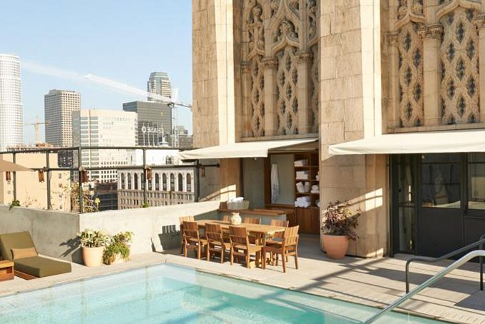 The Ace Rooftop Bar, Los Angeles, California