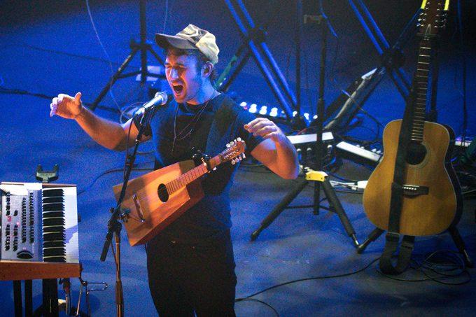 Sufjan Stevens live at the State Theatre in Sydney, Australia