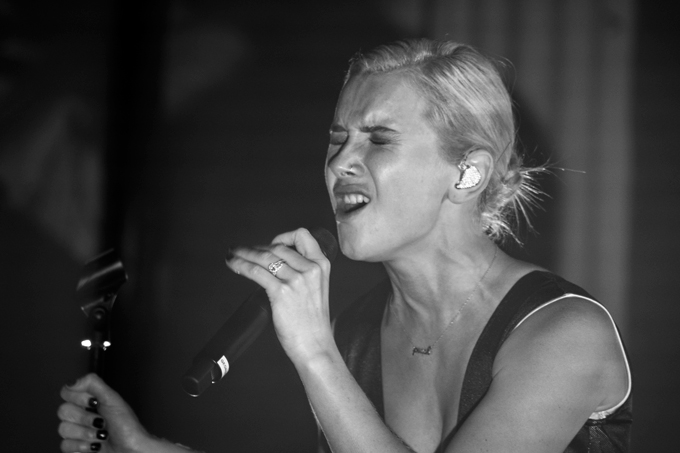 Broods perform at the Metro Chicago