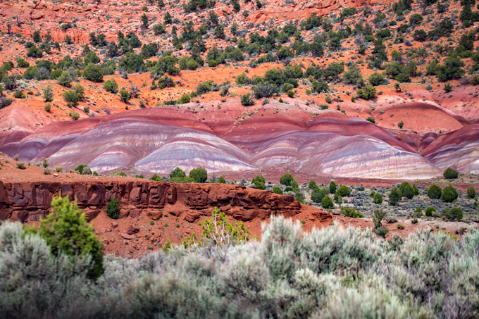 Rainbow Mountains, Arizona