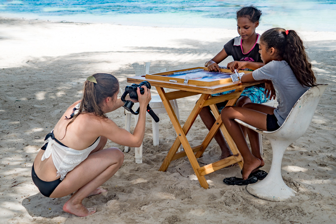 Behind the Scenes filming Barcelo Stories in Dominican Republic