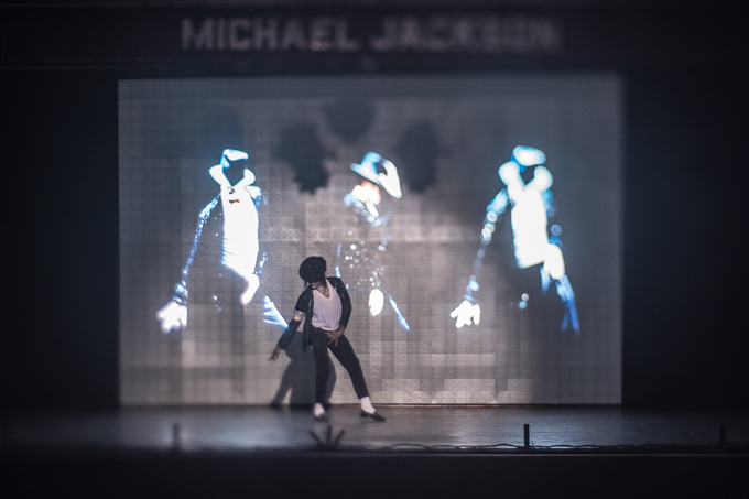 Michael Jackson dance performance at Barcelo Bavaro Palace, Punta Cana, Dominican Republic