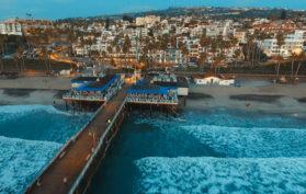 San Clemente Pier, California
