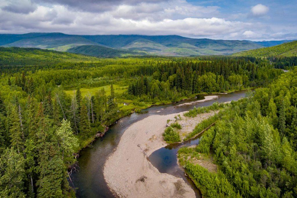 Angle Rocks Trail, Chena, Alaska