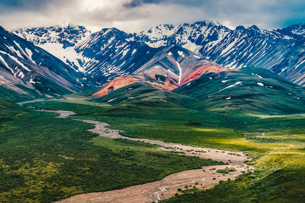 Polychrome Pass, Denal National Park, Alaska