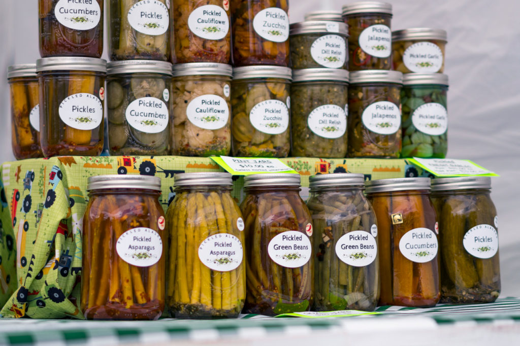 Tanana Valley Farmers Market, Fairbanks, Alaska
