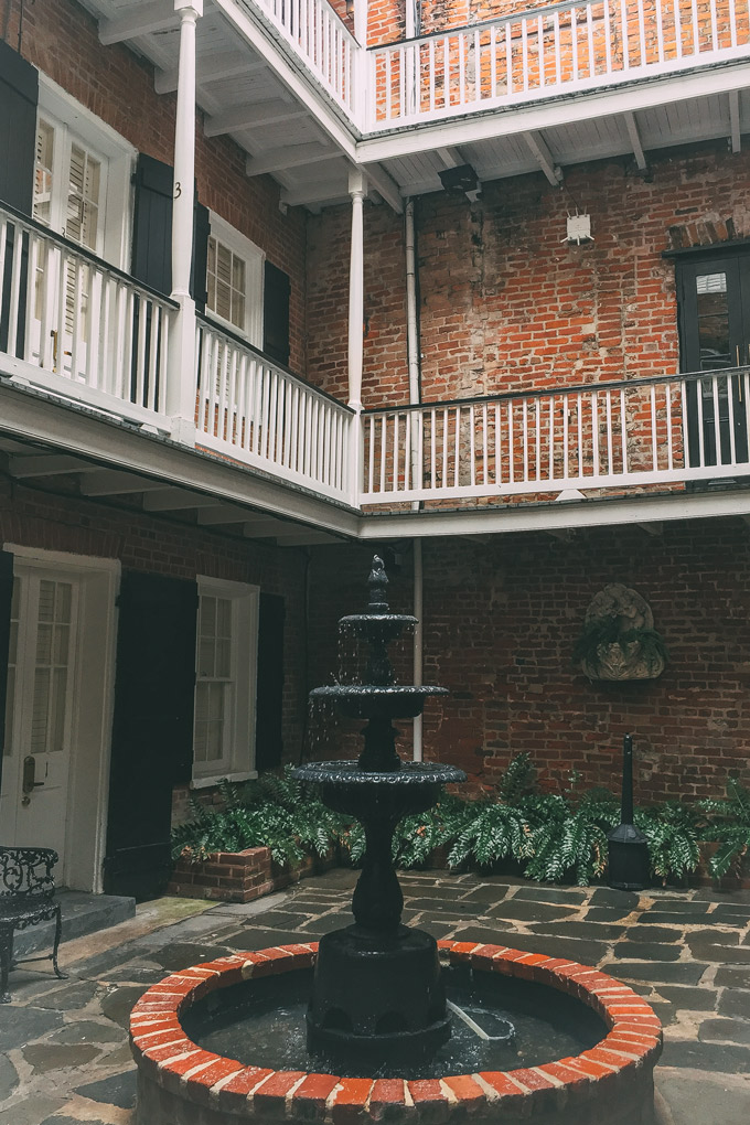 Hotel Royal in French Quarter, New Orleans, Louisiana