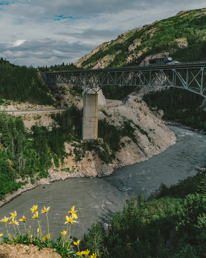 Bridge in Denali, Alaska