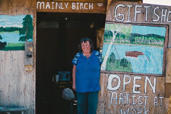 Alaskan gift shop