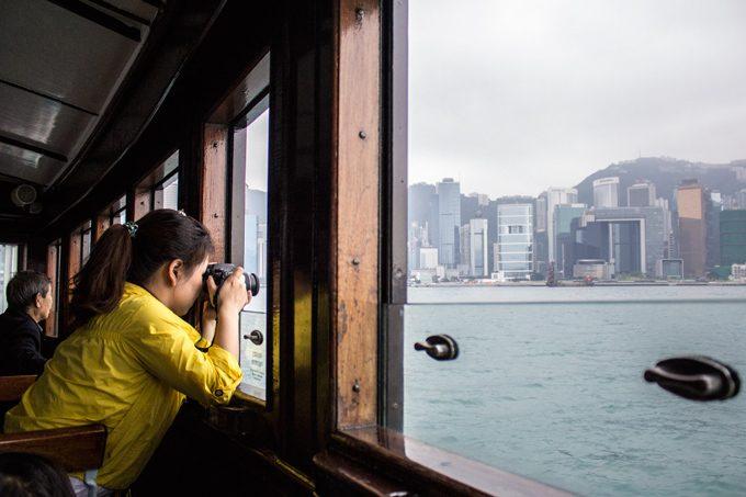Ferry-woman-camera-H