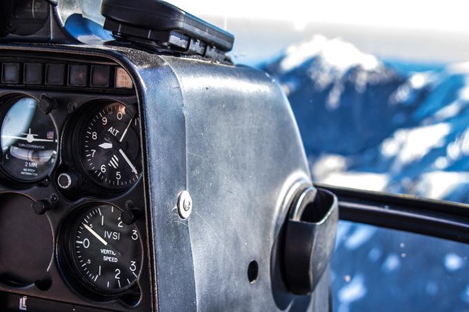 Franz Josef helicopter dials, New Zealand