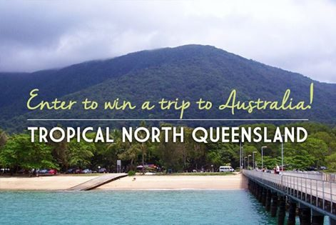 Enter to win a trip to Australia!