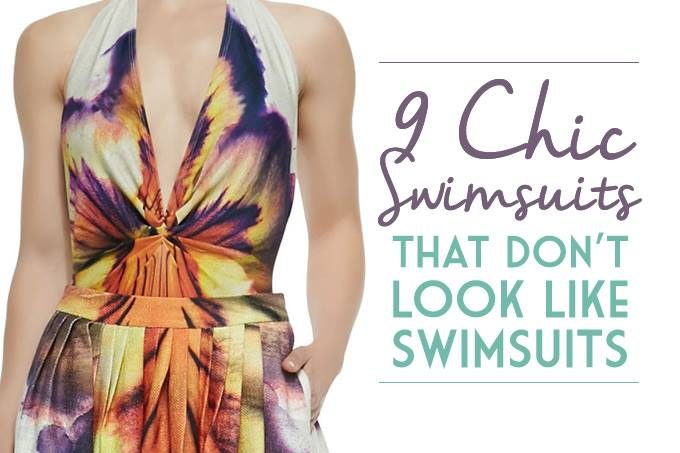 9 chic swimsuits that don