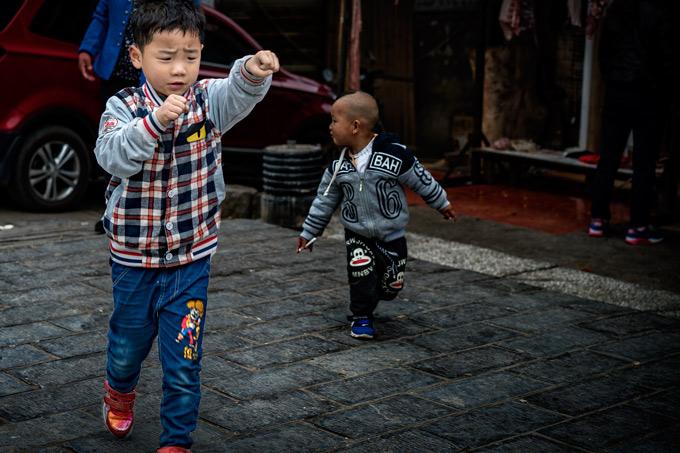 Child in Zhangjiajie, China