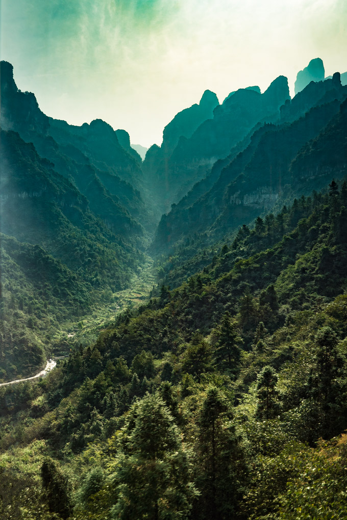 Tianmen Mountain National Park, Zhangjiajie, China
