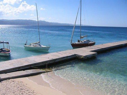 Montego Bay boats, Jamaica