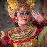 Balinese dancer, Ubud, Bali