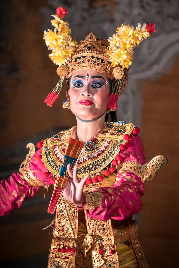 Balinese dancer in Ubud, Bali