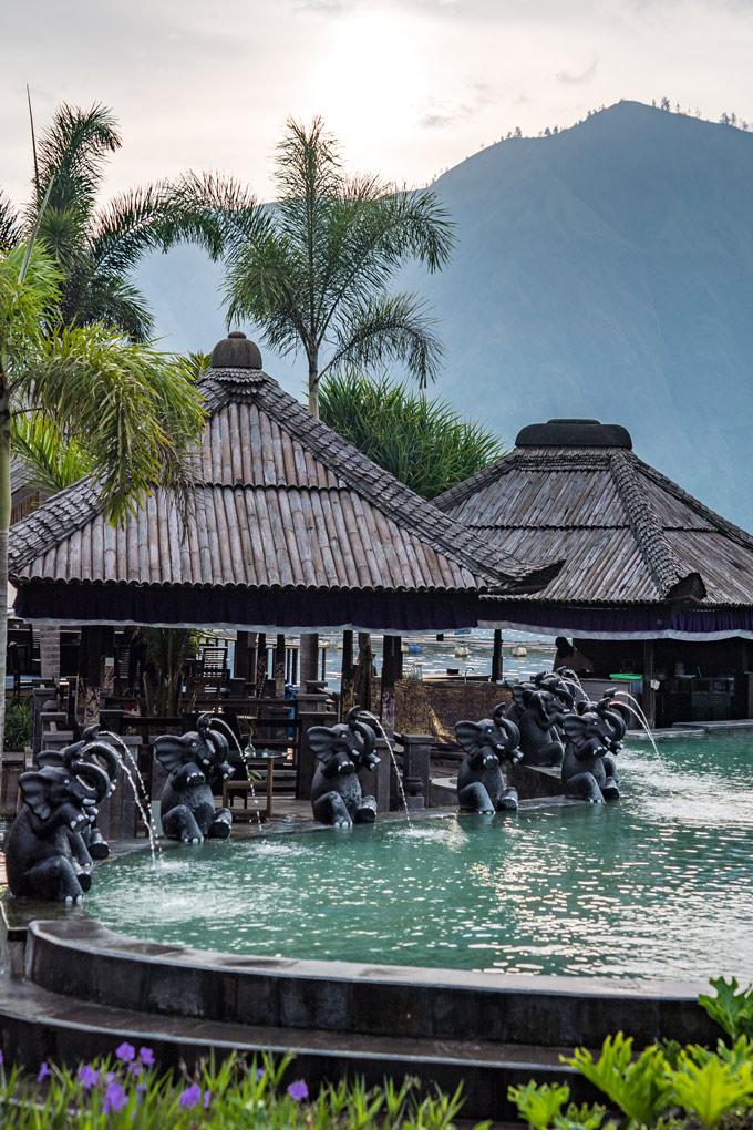 Bali hot spring Danau Batur