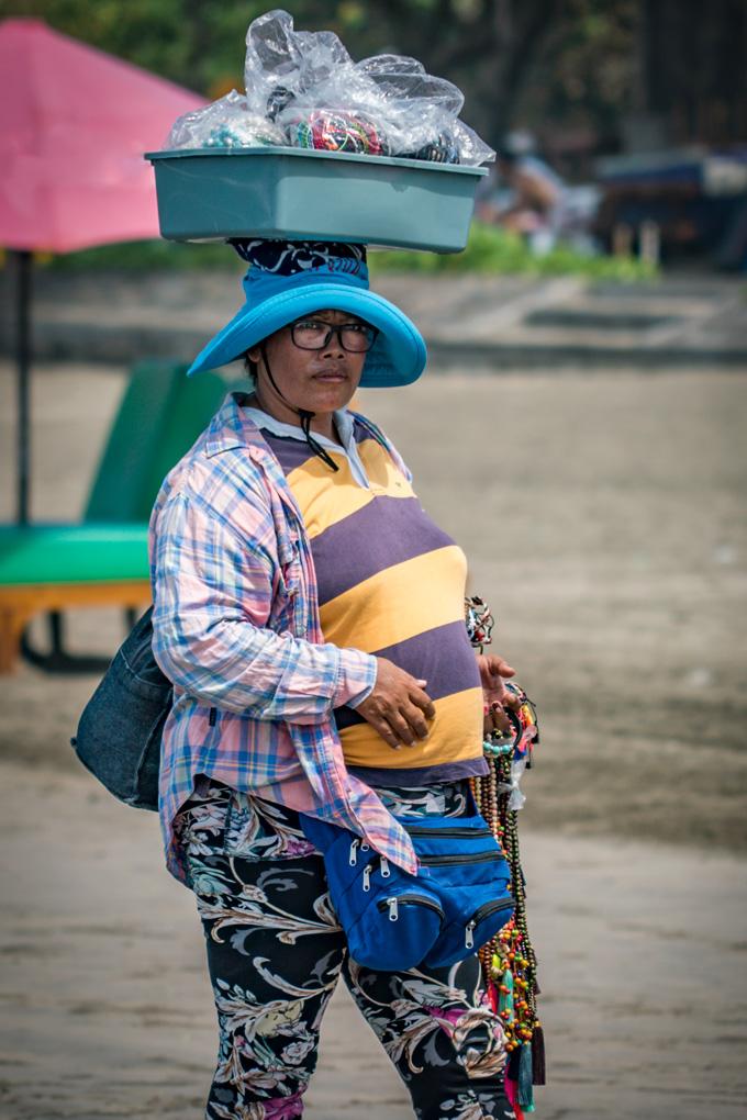 Balinese hawker
