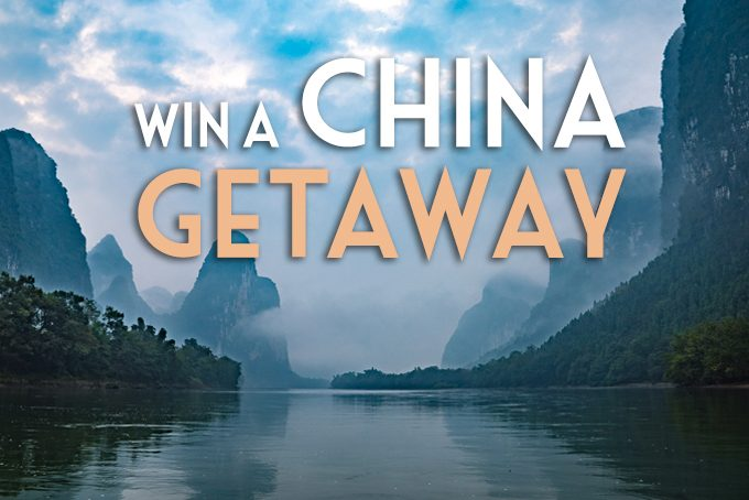 Win a China Getaway
