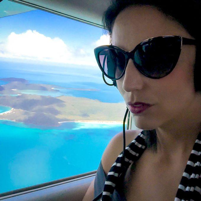 Whitsundays Aerial flight, Australia