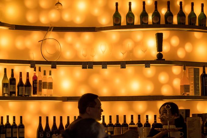 Bar in Shanghai, China