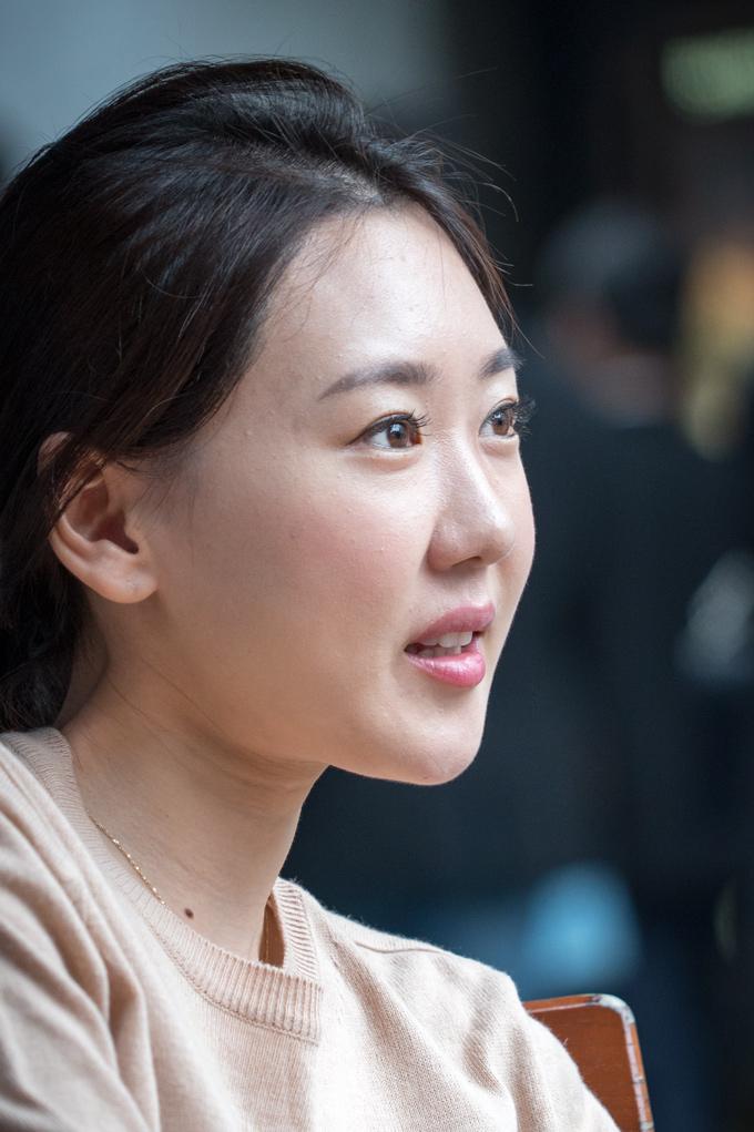 Woman in Shanghai, China